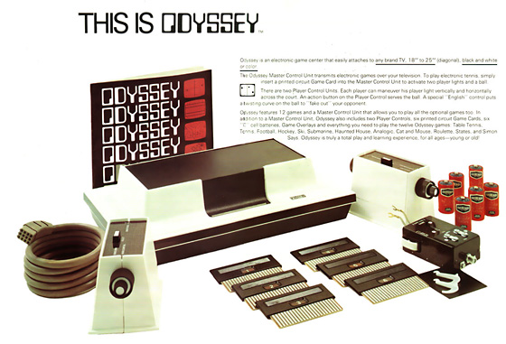 Magnavox Odyssey - courtessy of pong-picture-page.de